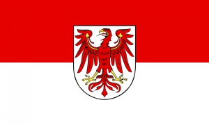 Brandenburg Landesflagge