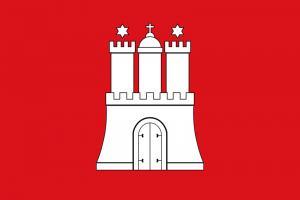 Hamburg Landesflagge