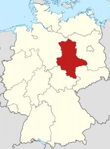 Die Lage von Sachsen-Anhalt auf der Deutschlandkarte