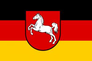 Niedersachsen Landesflagge