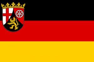 Rheinland-Pfalz Landesflagge