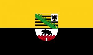 Sachsen-Anhalt Landesflagge